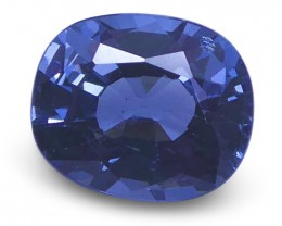 1.33 ct Cushion Blue Spinel