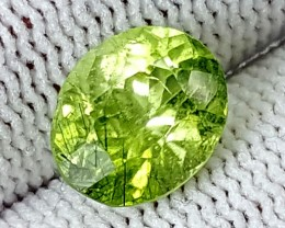 2.90CT RUTILE PERIDOT  BEST QUALITY GEMSTONE IGC514