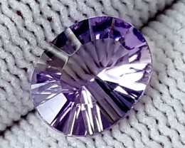 2.20CT BOLIVIAN AMETRINE LASER CUT  BEST QUALITY GEMSTONE IGC514