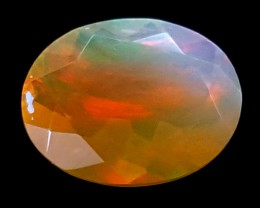 1.10CT FACETED OPAL HIGH FIRE  BEST QUALITY GEMSTONE IGC514