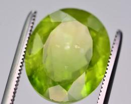 6.60 Ct Superb Color Natural Peridot