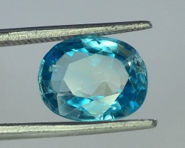 3.55 ct Natural Cambodian Zircon~Top Quality