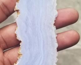 HUGE LACE AGATE ROUGH SLAB Natural Untreated Gemstone VA-290