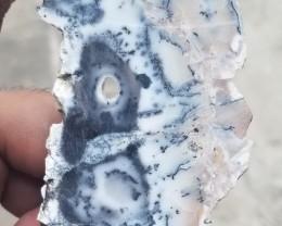 HUGE DENDRITE OPAL ROUGH SLAB Natural Untreated Gemstone VA-296
