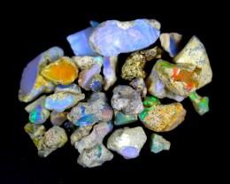135.0Cts Ethiopian Welo Rough Opal Parcel Lot