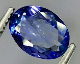 1.10 Crt Natural Tanzanite Beautifulest Faceted Gemstone(Tz 17)