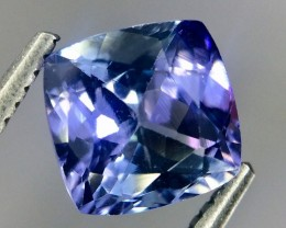 1.63 Crt Natural Tanzanite Faceted Gemstone(Tz 28)