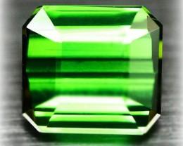 3.53 Large Emerald Green Tourmaline - Stunning - Top Grade Stone VVS