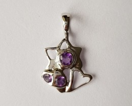 925 Sterling silver pendant #34132
