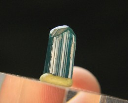Natural Kunar Blue Tourmaline Crystal From Afghanistan