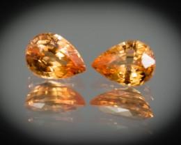7 x 5 mm Garnet Spessartite 2.09 ct Namibia