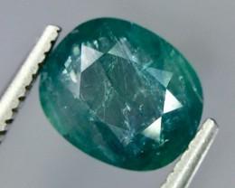 1.50 Crt Natural Rare Grandidierite Faceted Gemstone.( AG 58)