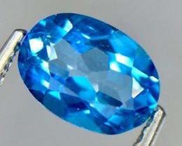 1.00 Crt Natural Topaz Faceted Gemstone.( AG 58)