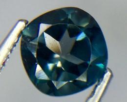 0.63 Crt Natural London Blue Topaz Faceted Gemstone.( AG 58)