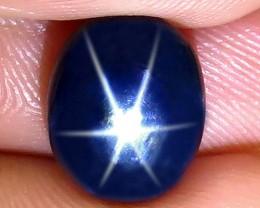 5.53 Carat Thailand Blue Star Sapphire - Gorgeous