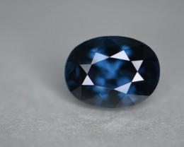 3.15 cts  Sri Lankan greenish blue spinel.