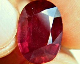 14.87 Carat Fiery Pigeon Blood Ruby - Gorgeous