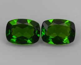 2.60 Cts Eye Catching Natural Rich Green Chrome Diopside Cushion Top Qualit