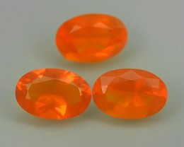 1.30 CTS BEST QUALITY~TOP COLOR EXTREME WONDER LUSTROUS GENUINE FIRE OPAL!