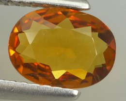 ~EXCELLENT NATURAL ULTRA RARE FANCY -YELLOWISE~ORANGE MADAGASCAR SAPPHIRE