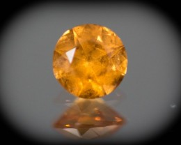 Orange  Garnet Spessartite 0.90 ct GPC Lab