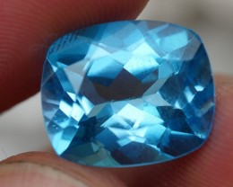 6.80 CRT WONDERFUL SWISS BLUE TOPAZ VERY CLEAR-