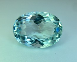 2.58 Cts Aquamarine Awesome Luster and Cut ~ As2