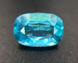3.44 Cts Neon Blue Apatite ~ Insanity ~ Untreated ~ As2