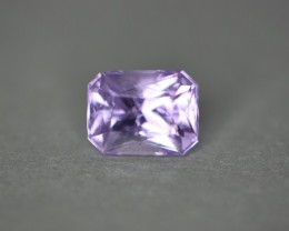 Gorgeous color in this pinkish lavender color toned spinel.    Very nicely cut for lots of flash and high luster.