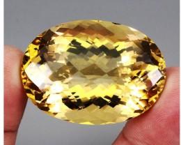 159.56 ct. 100% Natural Unheated Top Yellow Golden Citrine Brazil Big!