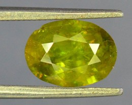 2.05 ct Natural Green Sphene From pakistan