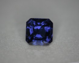 3.39 cts blue to violet color change Sri Lankan spinel.