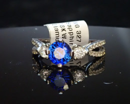 .90ct Sapphire Ring