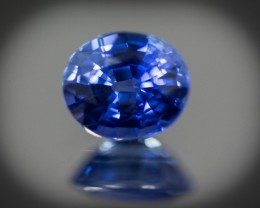 Blue Sapphire 0.91 ct Sri Lanka GPC Lab