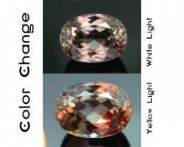 Gil Certified AAA Grade 3.68 ct Turkish Color Change Diaspore SKU.6