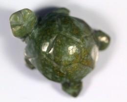97.75Ct Natural Grade A tortoise Green Jadeite Jade