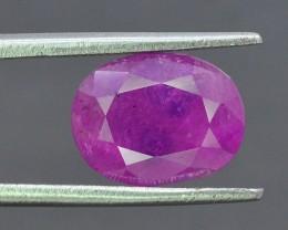3.55 ct 100% Natural Ruby ~ Tajikistan~$1000