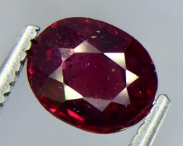 1.59 Crt Natural Rhodolite Garnet Faceted Gemstone.( AG 59)