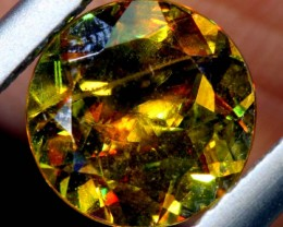 2.18  CTS CHROME SPHENE FACETED VVS QUALITY  PG-2499