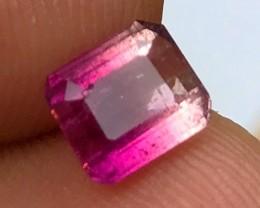 1.65 cts AAA Pink/Purple Bicolor Tourmaline - Minas Gerais, Brazil - VS+