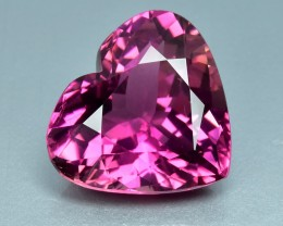 6.78 Cts Fabulous Beautiful Heart Natural Pink Tourmaline
