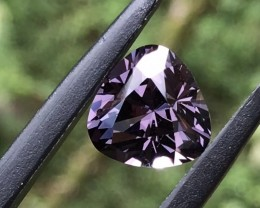 6.01 cts Purple Spinel Certified BURMA Mogok Excellent cut