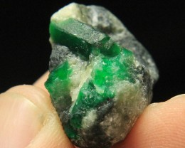 Swat Natural Damaged Free Emerald Specimen From Pakistan