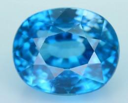 AAA Brilliance 6.70 ct Blue Zircon Cambodia SKU.8