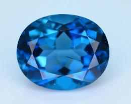 Top Color 6.71 ct London Blue Topaz SKU.2