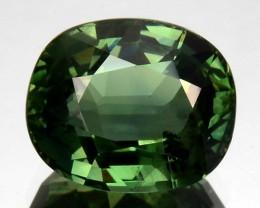 3.09 Cts Natural Corundum Sapphire Nice Green Oval Sri Lanka