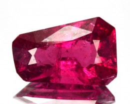 ~FANCY~ 2.15 Cts Natural Raspberry Pink Rubelite Tourmaline Mozambique