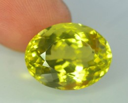 Top Color 12.65 ct Lemon Citrine