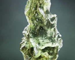 Glossy 100% authentic Moldavite quality A+/++ CERTIFIED