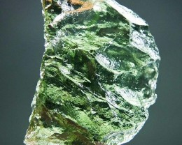 Apple green Very Glossy - RARE - Natural Moldavite